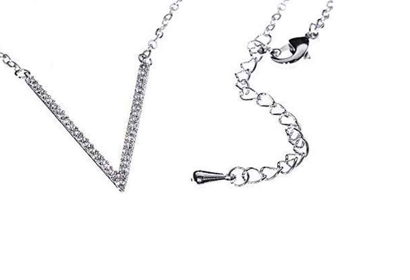 Avery and May Debutante Collection Very V Necklace Small Necklace