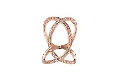 Avery and May Infinity Ring