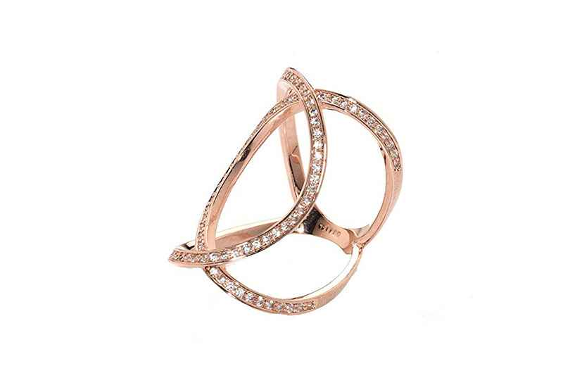 Avery and May Statement Collection Infinity Ring