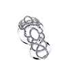 Avery and May Statement Collection Princess Double Jointed Ring