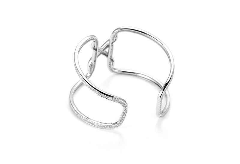 Avery and May Debutante Collection Knots Of Love Cuff Bracelet
