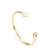 Avery and May Debutante Collection Cupid's Arrow Gold Bracelet