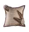 Pink Champa Petals Square Pillow Cover