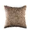 Pink Champa Voluminous Cubes Square Pillow Cover