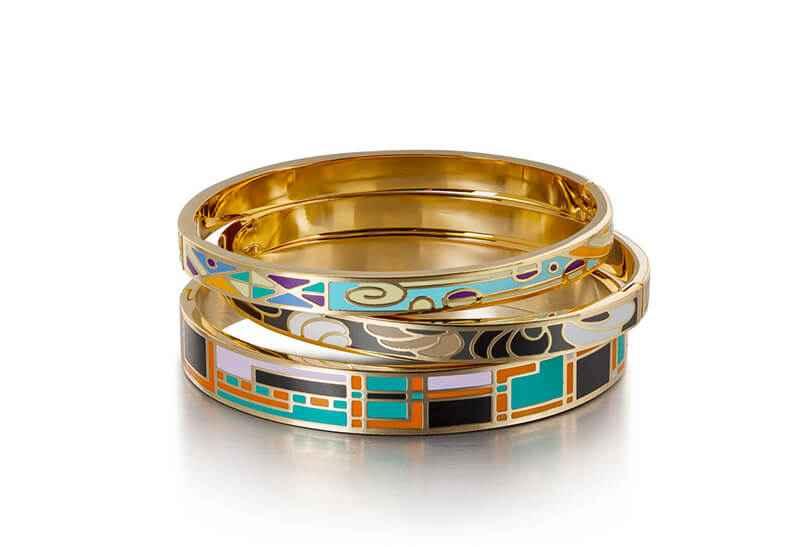 Avery and May Yen Retro Mosaic Bracelet
