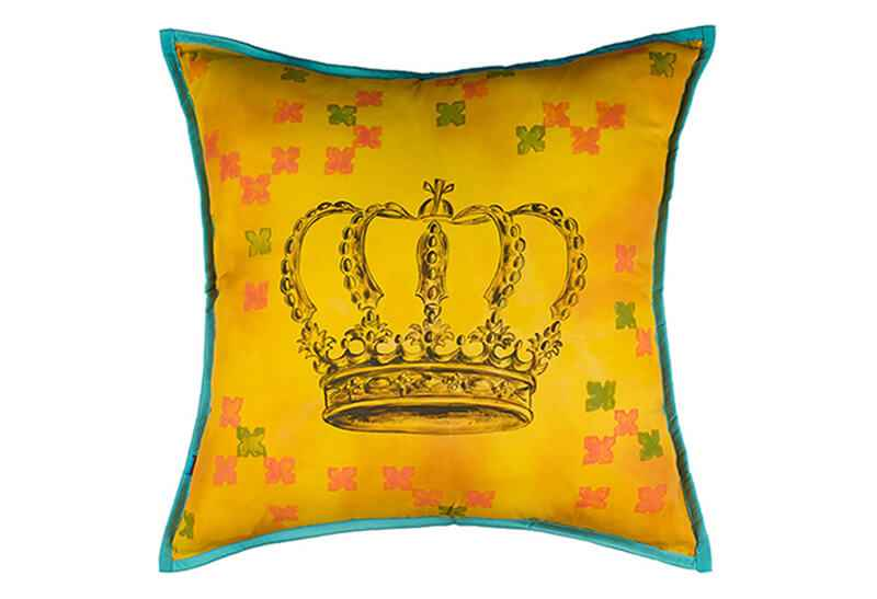 Pink Champa Valentine's Collection Crowning Glory King Square Pillow Cover
