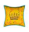 Pink Champa Valentine's Collection Crowning Glory Queen Square Pillow Cover