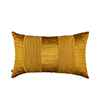 Pink Champa Spun Gold Stitch Lumbar Pillow Cover