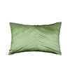Pink Champa Criss Cross Lumbar Pillow Cover