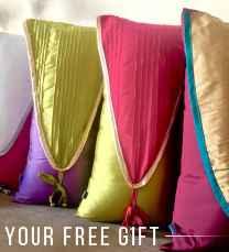 Pink Champa Notice Me ! Lumbar Pillow Cover