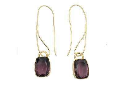 Avery and May Tyrian Squared Earrings