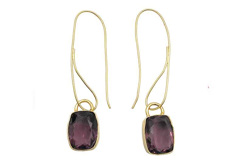 Avery and May Gems Tyrian Squared s Earring