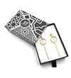 Avery and May Geometric Safety First Earring