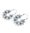 Avery and May Zen Handmade Blossom Filigree s for Women, Silver Color Earring