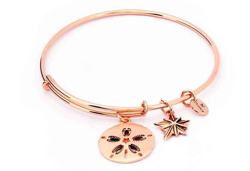Chrysalis Chrysalis Sand Dollar Expandable Bangle Bracelet