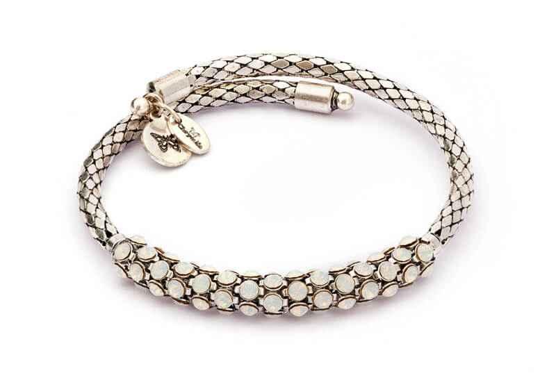 Chrysalis Chrysalis Spirit Moonstone Crystal Wrap Bangle Bracelet