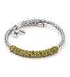 Chrysalis Chrysalis Charisma Peridot Crystal Wrap Bangle Bracelet