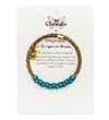 Chrysalis Chrysalis Originality Turquoise Resin Wrap Bangle Bracelet