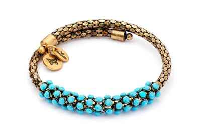 Chrysalis Originality Turquoise Resin Wrap Bangle