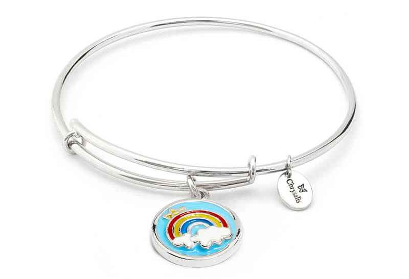 Chrysalis Chrysalis Rainbow Expandable Bangle Bracelet