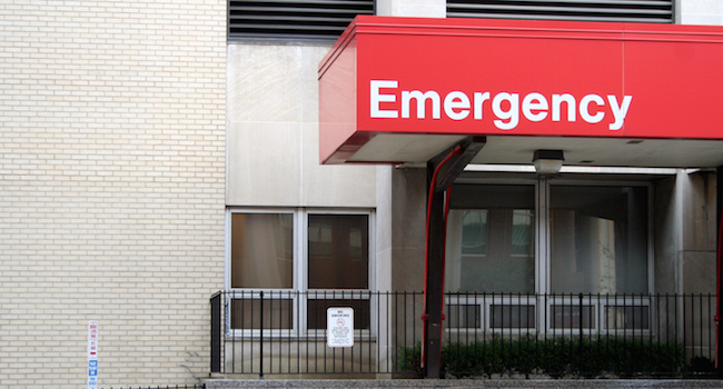 Image of an emergency room where stressed out product managers go