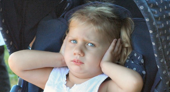 Image of Child Covering Ears