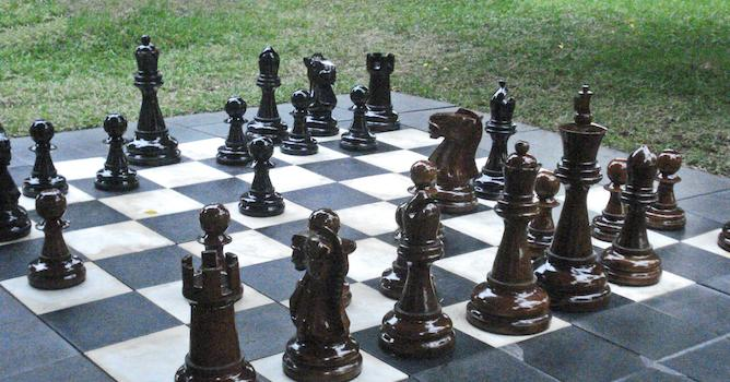 Image of a chessboard