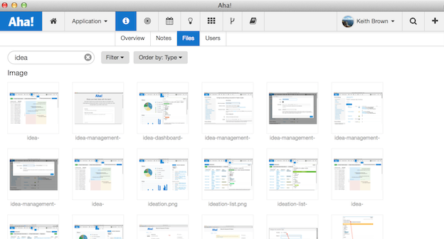 Store All Of Your Product Roadmap Files Mockups And Images In Aha - Google docs product roadmap template