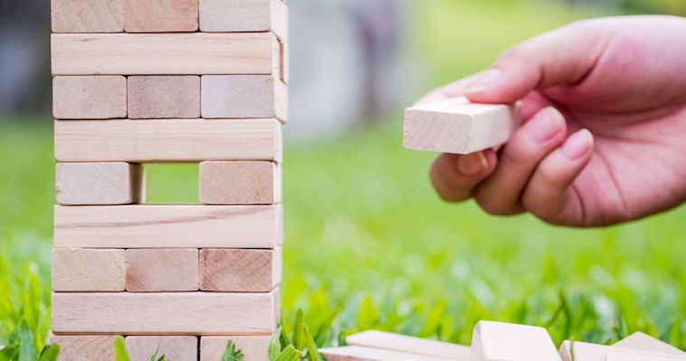 product management jenga syndrome