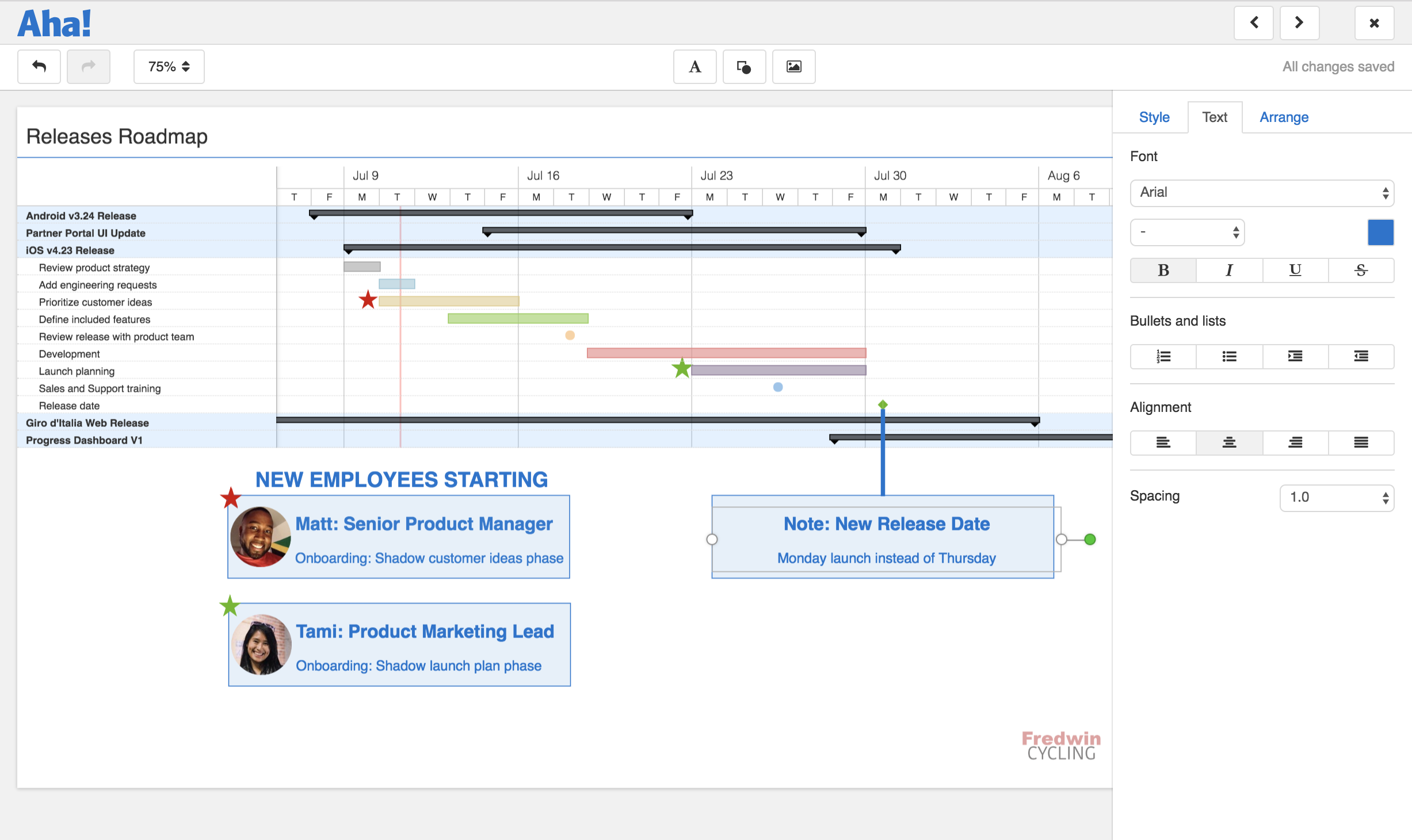 The 8 Best Product Roadmapping Software Updates of 2018 | Aha! Blog