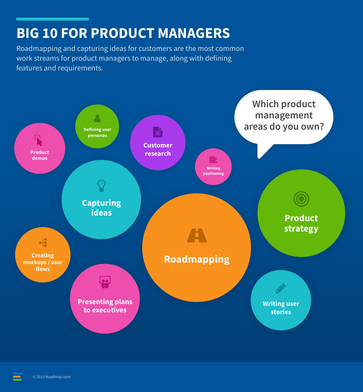 Pesquisa de gerenciamento de produtos do Roadmap.com 2019