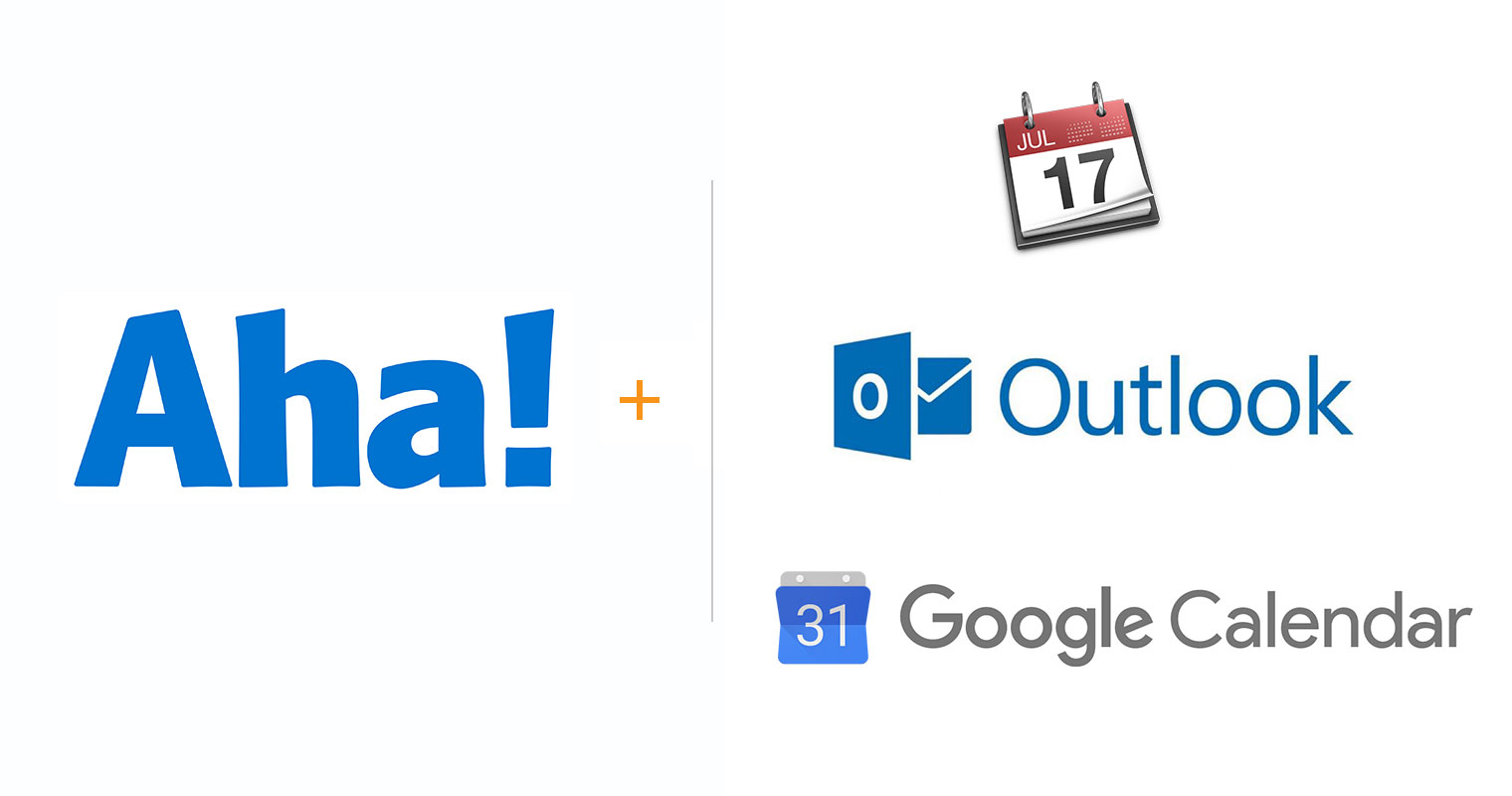 Aha! integrations with popular calendar applications