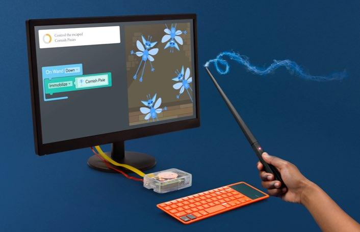 Harry Potter Coding Wand + Computer Kit