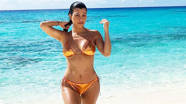 Kardashian sisters - Kourtney Kardashian bikini photos