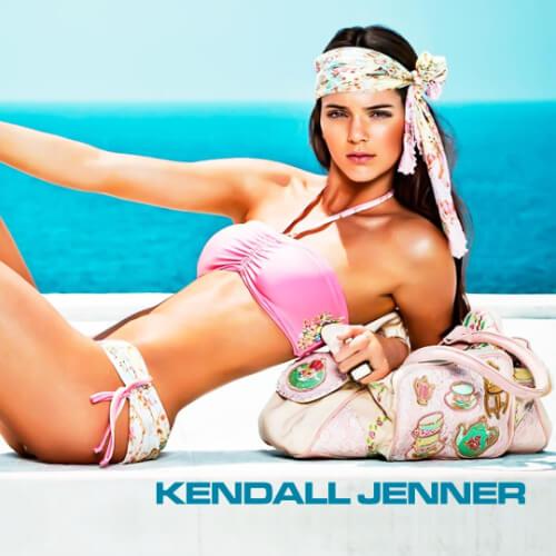 kendall jenner bikini beach