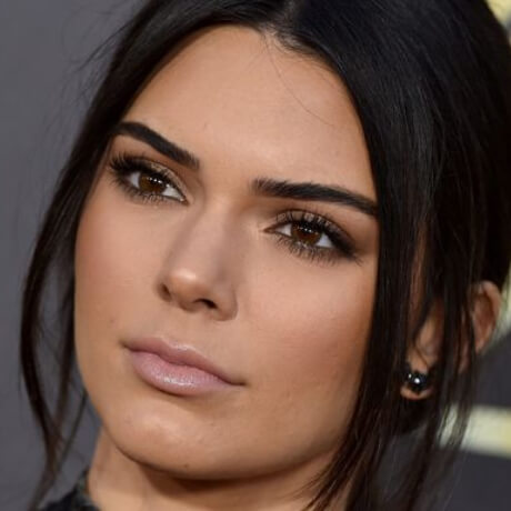 cute face of kendall jenner