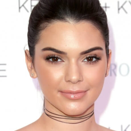 kendall jenner face pictures