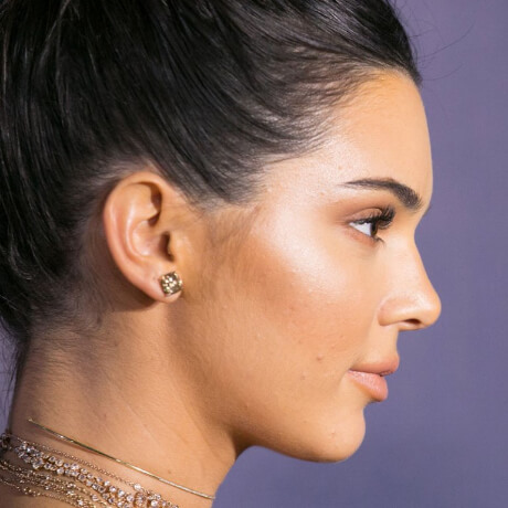 kendall jenner makeup after before