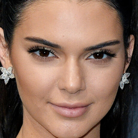kendall jenner perfect face