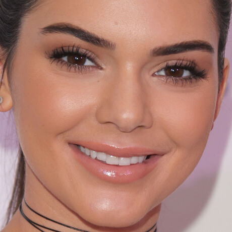 image of kendall jenner face