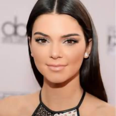 pics of kendall jenner face