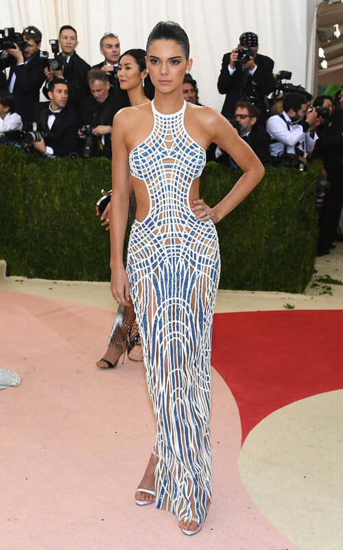 face photos met gala of kendall jenner