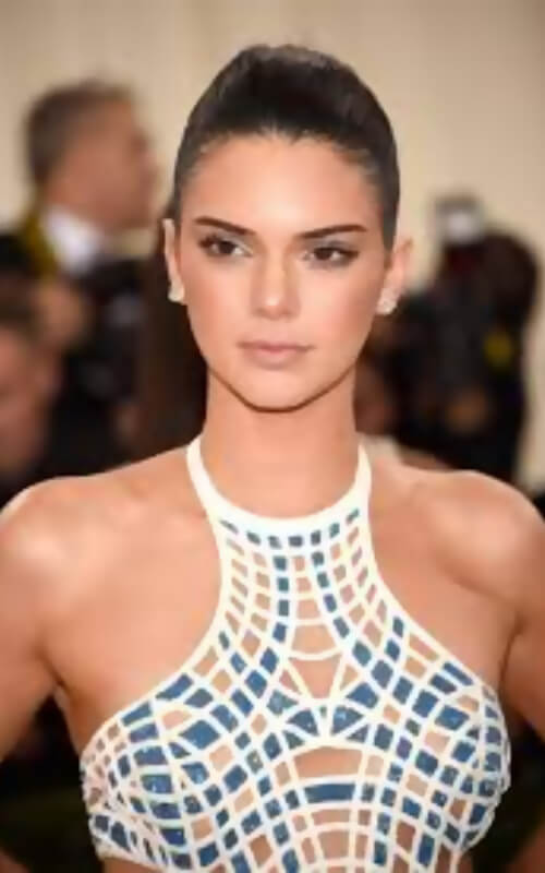 kendall jenner 2018 dress met gala