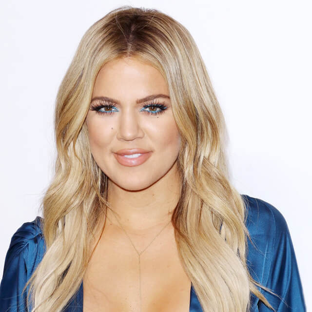 khloe kardashian makeup after before