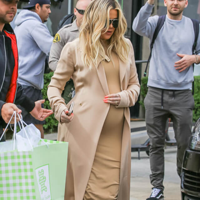 khloe kardashian perfect pregnant