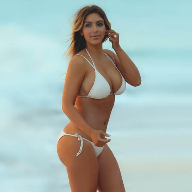 images of kim big butt kardashian bikini real pics