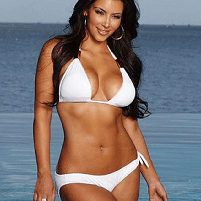 bikini real pics big butt of kardashian