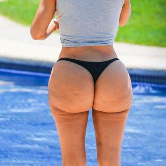pics of kim kardashian mexico cellulite