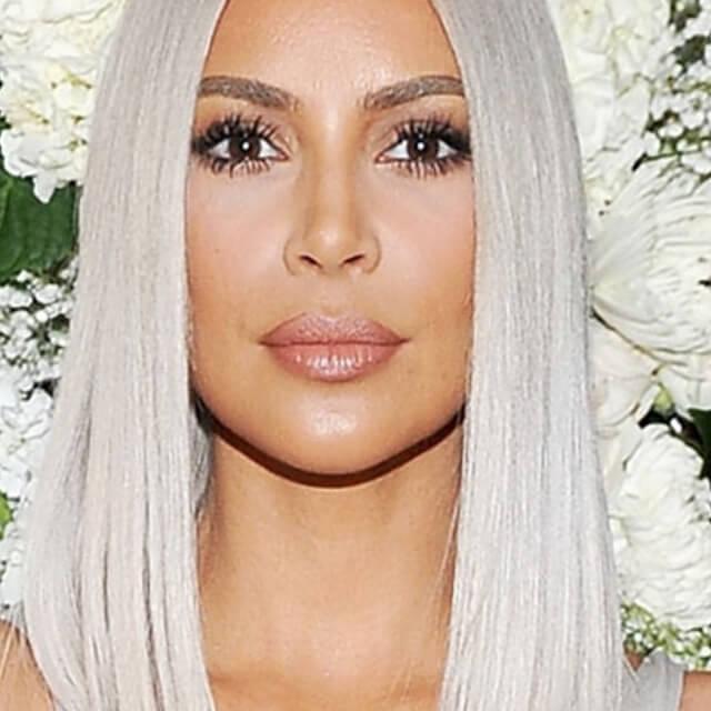 kim kardashian face pictures