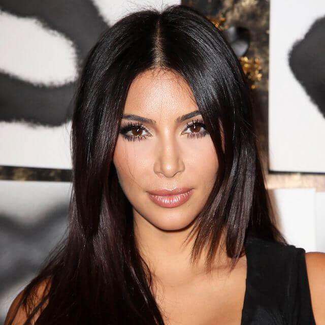 eyes photo of kim kardashian